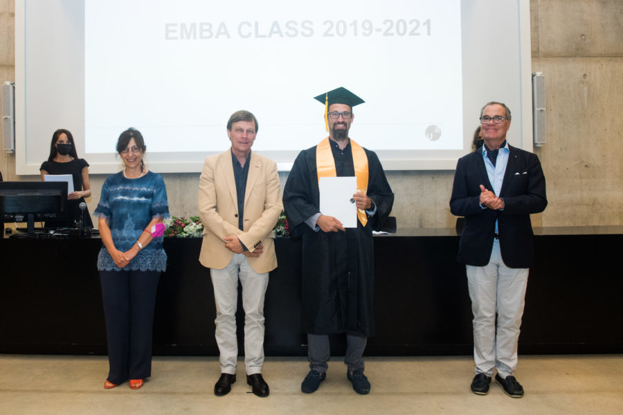 Congratulation to our COO and co-founder Francesco Frontini for the EMBA degree.